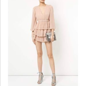 ALICE MCCALL | and then you kissed me dress pink
